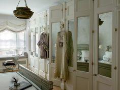Mirror image closet door ideas