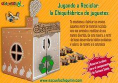 """GRÁFICA CHIQUITIN; """"Jugando a reciclar"""""""