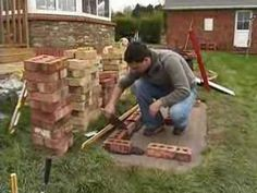 You can build brick BBQ grill