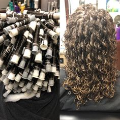However, perming is permanent hair curling and there are many types of perms for thin hair to choose one from. You can even look for perm for gray hair since such hair tends to lose thickness. Medium Permed Hairstyles, Short Permed Hair, Curly Perm, Curled Hairstyles, Perms For Long Hair, Hair Perms, Perm For Thin Hair, 2015 Hairstyles, Permanent Hair Curling