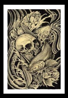 Tattoo artist Clark North hails from Huntington Beach, California and started tattooing in 1979 at age sixteen. Like most creatives, his interest in art started at an early age and has been drawing si