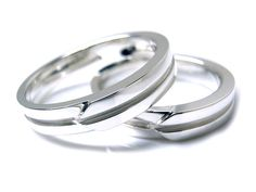 AMBRACE PT900 platinum ring stylish flat プラチナ ペアリング スタイリッシュ フラット