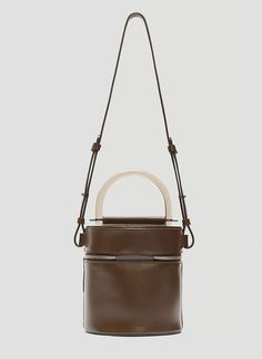 Building Block Drum Cylinder Bag In Brown Shoulder Bags, Shoulder Strap, Shop Buildings, Luxury Bags, Hand Bags, Drums, Brown, Holiday, Leather