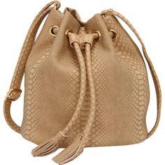 Bolsa Saco Butterfly Croco DRICA TURCA DELUXE BRANDS