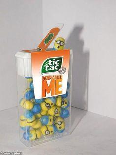 Minion Tic Tacs-Awesome! Do they taste like banana?