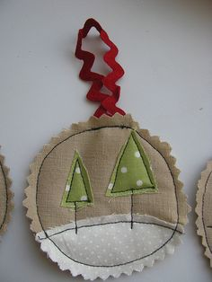 tiny tree decorations. I see some of these in my future...
