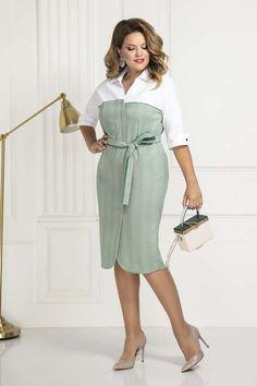 Over 50 Womens Fashion, Plus Size Fashion For Women, Long Shirt Dress, I Dress, Latest Dress Patterns, Plus Size Dresses, Dresses For Work, Casual Dresses, Fashion Dresses