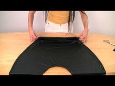 Make Your Own Harem Pants simple tutorial, i want one for the girls!