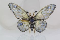 Dale Fournier - Art Nouveau Plique-a-jour Butterflies and Dragonflies