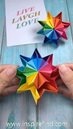 video crafts 💕Interesting diy toy for kids! Diy Crafts Hacks, Diy Crafts For Gifts, Diy Arts And Crafts, Diy Crafts Videos, Creative Crafts, Instruções Origami, Origami Simple, Paper Crafts Origami, Diy Paper