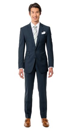 BlackLapel | Solid Charcoal Blue Suit http://www.blacklapel.com/suits/solid-charcoal-blue.html