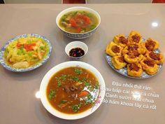 Vietnamese Recipes, Bap, Chana Masala, I Foods, Food To Make, Clean Eating, Good Food, Food And Drink, Keto