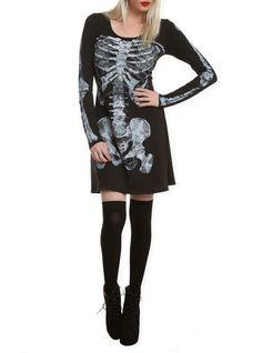 Hot Topic Ribcage Dress