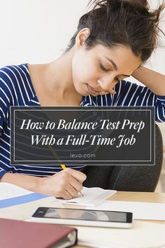 Don't get burnt out trying to study and work full-time. www.levo.com
