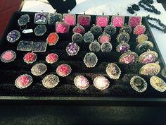 Lilit.es anillos fantasía con piedras marinas