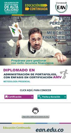 #NOVOCLICK esta con #EAN #DiplomadoenAdministracióndePortafoliosconÉnfasisenCertificaciónenAMV