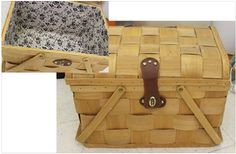 Take the family on a picnic this weekend with this vintage picnic basket! Buy it today at our Family Store on Eastchester!