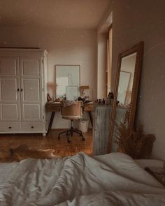 Image about cute in Architecture / Home / Interior Design by Lucian Dream Rooms, Dream Bedroom, Home Bedroom, Bedroom Decor, Bedrooms, Bedroom Corner, Wall Decor, Aesthetic Room Decor, Bedroom Inspo