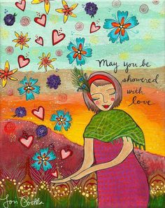 Lori Portka showered with love
