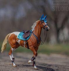 Model Horse Tack by MidnightLine Studio