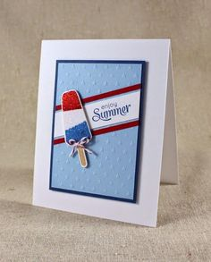 Image result for handmade cards with popsicles