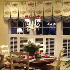 11 Good French Country Kitchen Window Treatments