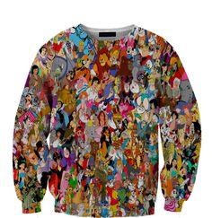 Disney Characters Sweatshirt ($59)