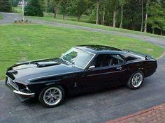 1969 Mustang Fastback