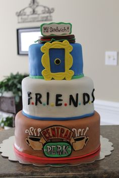 Friends Tv Show Was The Theme on Cake Central