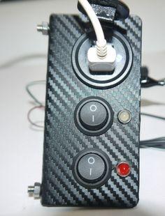2CV Side Dash 2 usb with switch lights reverse/fog UK Supplier
