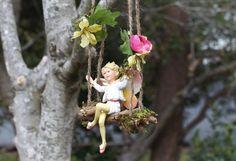 Garden Fairy Swing by Olive* ~ Pear Blossom Flower Fairy $28.50 so cute!