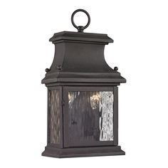 Titan Lighting Peachtree Forge Collection 2-Light Charcoal Outdoor Sconce-TN-36028 - The Home Depot