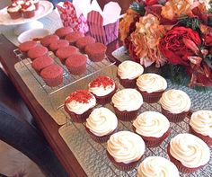 """Cream Cheese frosting  Super Moist Red Velvet Cupcakes        """"You know you're in love when you can't fall asleep because reality is finally better than your dreams.""""    -Theodore Seuss Geisel  - better known as Dr. Seuss, American writer and cartoonist      Happy Valentines Day!"""