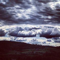 another surreal scandinavian sky today