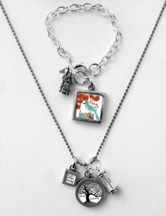 WIN! The Funky Monkey Giveaway: Pick Up Sticks Jewelry Company: Grow Strong Necklace & Take Flight Bracelet - Ends 3/17/13