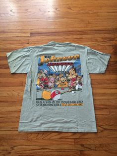 28e5a3e3 Vintage Big Johnson Pool Cues Inappropriately Hilarious Advertisement T- Shirt 1995 (free shipping)