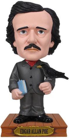 Amazon.com: Funko Edgar Allan Poe Wacky Wobbler: Toys & Games