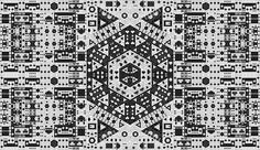CG Art Master Makes Algorithms Look Like Oriental Rugs. Polygons on a grid bloom into intricate patterns that resemble hand-woven rugs and Moorish tile patterns in the generative works of John Green, a.k.a., Fleen. Black and white patterns repeat into seeming infinity through an algorithmic system developed with computer software. The pieces show the abundance of possibility, with shapes as simple as triangles and squares becoming ornate colonies of design.