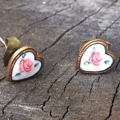 Free people heart earring studs! Free people heart earring studs! Never worn! Including a trio of forever 21 bangles (see last pic) Bundle and save! Free People Jewelry