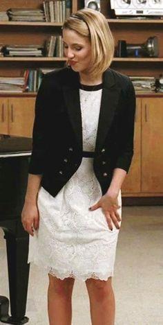 Quinn Fabray in Anthropologie Blazer #Glee