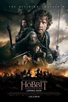 Póster de 'El Hobbit: la batalla de los cinco ejércitos'¿Quieres ver el tráiler conmemorativo?
