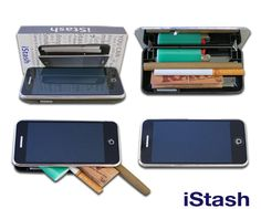 iStash phone case. Could replace your wallet or let you smuggle in...things $10