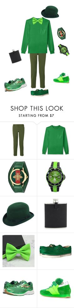 """""""Pirro"""" by carina98 on Polyvore featuring Entre Amis, Lands' End, Gucci, Scala, Dunhill, Circa, Brooks, Philippe Model, men's fashion and menswear"""