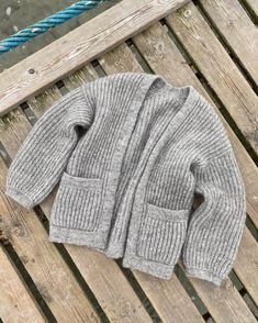 Ellen's Coming Home Set – PetiteKnit Summer Cardigan, Big Yarn, Mohair Yarn, Knit In The Round, Circular Needles, Holiday Sweater, Work Tops, Stockinette, Jacket Pattern