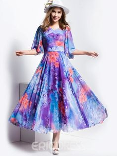 Ericdress is a reliable site offering online cheap dresses for women such as long dresses. Hope you will enjoy the latest dresses like white dresses for women & vintage dresses. Day Dresses, Evening Dresses, Gipsy Fashion, Cheap Dresses Online, White Dresses For Women, Latest Dress, Half Sleeves, Vintage Dresses, Fashion Dresses