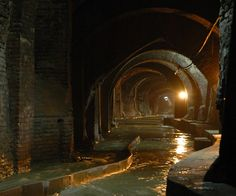 Torrente-Aposa,Secrets of underground tunnels of Bologna Fantasy Places, Fantasy World, Dark Fantasy, Fantasy Male, Fantasy Dragon, Fantasy Setting, Fantasy Landscape, Fantasy Inspiration, Environmental Art