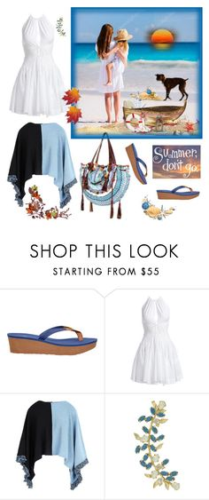 """""""The beginning of August."""" by m-kints ❤ liked on Polyvore featuring UGG, Alaïa, George J. Love, World Family Ibiza, Joanna Laura Constantine and thebestpolyvorians"""