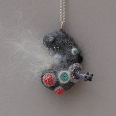 Hey, I found this really awesome Etsy listing at https://www.etsy.com/listing/95705387/mouldy-madness-necklace-bacteria-jewelry