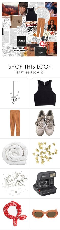"""""""what I want you've got & it might be hard to handle"""" by lindsay-xo ❤ liked on Polyvore featuring Chico's, H&M, adidas, Brinkhaus, CO, Chanel, Polaroid, Dries Van Noten and Fat Face"""