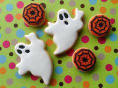 Halloween, cookies, biscoitos decorados | by Cookie Design